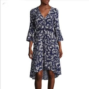 • Likely • Floral Midnight Kedzie High Low Dress 6